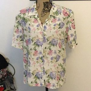 Westbound floral print blouse